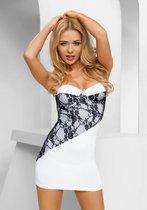 Платье Casabella, цвет белый/черный, L-XL - Avanua