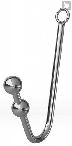 Анальный крюк с 2 шариками, фиксацией, ошейником и наручниками - МиФ