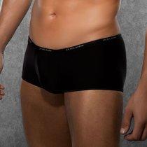 Укороченные боксеры на узкой резинке, цвет черный, 2XL - Doreanse