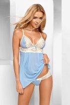 Беби-долл Eden с трусиками, цвет голубой, размер S-M - Avanua