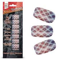 Набор лаковых полосок для ногтей Блестящий градиент NAIL FOIL, цвет серый - Erotic Fantasy