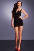Мини-платье Lara, цвет черный, L-XL - Me Seduce