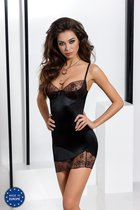 Сорочка Brida, цвет черный, L-XL - Passion