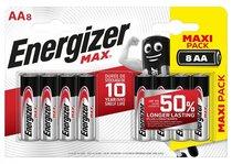 Батарейки Energizer MAX BP8 RU 1.5V типа АА - 8 шт. - Energizer