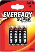 Батарейки EVEREADY SUPER R03 типа AAA - 4 шт. - Energizer