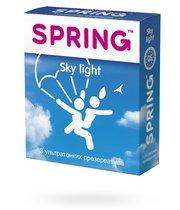 Презервативы Spring Sky Light ультратонкие, 3 шт. - Spring