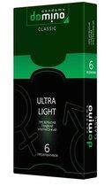Супертонкие презервативы DOMINO Ultra Light - 6 шт. - LUXLITE