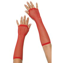 Перчатки Long Fishnet Gloves в сетку, OS - Electric Lingerie