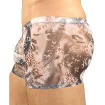 Трусы мужские хипсы серые с рисунком, цвет серый - Romeo Rossi