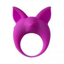 Фиолетовое эрекционное кольцо Kitten Kyle, цвет фиолетовый - Lola Toys