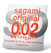 Ультратонкий презерватив Sagami Original - 1 шт. - Sagami