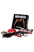 Набор для эротических игр Jeu erotique de couple Aphrodisia Ozze, цвет красный/черный - Concorde