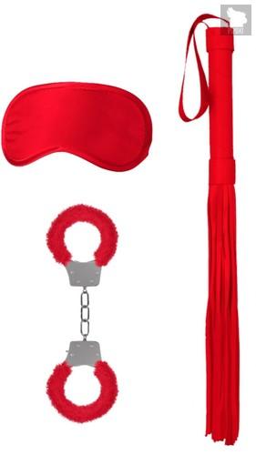 Красный набор для бондажа Introductory Bondage Kit №1, цвет красный - Shots Media