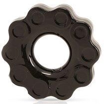 Черное эрекционное кольцо Chains, цвет черный - Blush Novelties