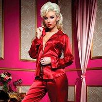 Пижама Louisette, цвет красный, L - Seven`til Midnight