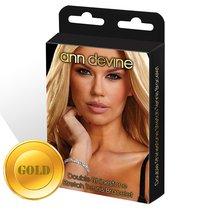Браслет из золотистых кристаллов Stretch Tennis Bracelet, цвет золотой - Ann Devine