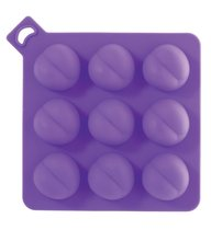 Формочка для льда в форме попки FUNX SEXY COOLER BUTT, цвет фиолетовый - Dream toys