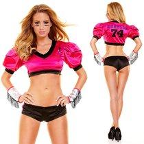 """Игровой костюм """"Американский футбол"""", цвет розовый, M-L - Hustler Lingerie"""