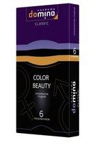 Разноцветные презервативы DOMINO Colour Beauty - 6 шт. - LUXLITE