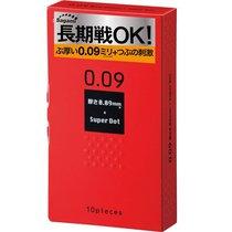 Презервативы Sagami Dots с точками - 10 шт. - Sagami