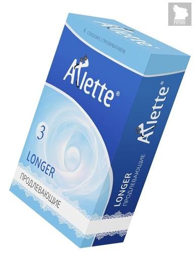 Презервативы Arlette Longer с продлевающим эффектом - 6 шт. - Arlette