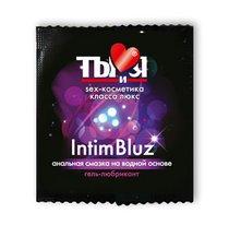 Гель-лубрикант Intim bluz в одноразовой упаковке - 4 гр. - Bioritm