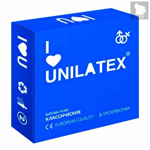 Презервативы Unilatex - Natural Plain, 3 шт. - Unilatex