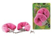 E0014T30PGAC / Наручники розовые - Seven Creations