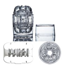 Мастурбатор Fleshlight - Quickshot Masturbator Clear, цвет прозрачный - Fleshlight