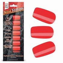 Набор лаковых полосок для ногтей Красный шик NAIL FOIL, цвет красный - Erotic Fantasy