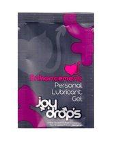 Пробник возбуждющей женской смазки на водной основе JoyDrops Enhancement - 5 мл - JoyDrops