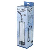Вакуумная помпа Discovery Light Boarder Clear 6911-00lola, цвет черный/прозрачный - Lola Toys