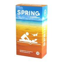 Контурные презервативы SPRING CONTOUR - 12 шт. - Spring