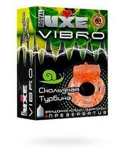 Эрекционное виброкольцо Luxe VIBRO - Скользкая турбина - LUXLITE