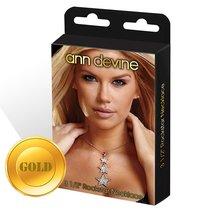 Украшение со звездочками, цвет золотой - Ann Devine