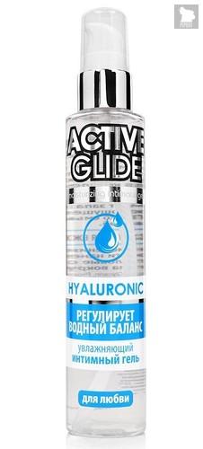 Увлажняющий интимный гель Active Glide Hyaluronic - 100 гр. - Bioritm