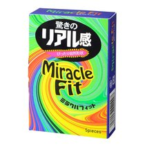 Презервативы Sagami Xtreme Miracle Fit - 5 шт., цвет розовый - Sagami