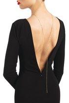 Фиксация: упряжь на шею COLLIER DE DOS JULIE OR, цвет золотой, 40-46 - Bijoux Pour Toi