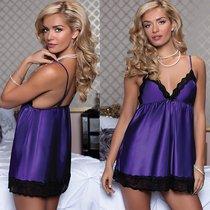 Бэби-долл Marilu, с трусиками, цвет фиолетовый, M - Seven`til Midnight