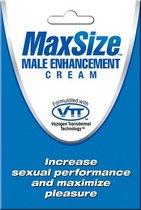 Крем для улучшения потенции Max Size, 4 мл - Swiss Navy