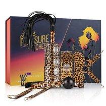 Леопардовый эротический набор Wicked Wildcat, цвет леопард - EDC Wholesale