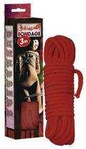 Веревка для бандажа - 3 м., цвет красный - ORION