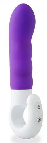 Фиолетовый вибромассажер IMPULSE - 16,5 см., цвет фиолетовый - ML Creation
