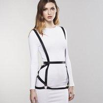 Чёрная упряжь ARROW DRESS HARNESS, цвет черный - Bijoux Indiscrets