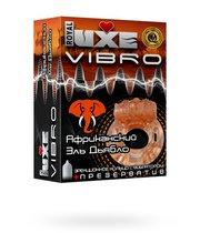 Презервативы Luxe VIBRO Африканский Эль Дьябло + виброкольцо, 1 шт. - LUXLITE