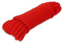 Веревка для связывания - 10 м., цвет красный - Пикантные штучки