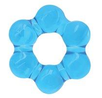 Голубое эрекционное кольцо Spinner Ring, цвет голубой - NS Novelties