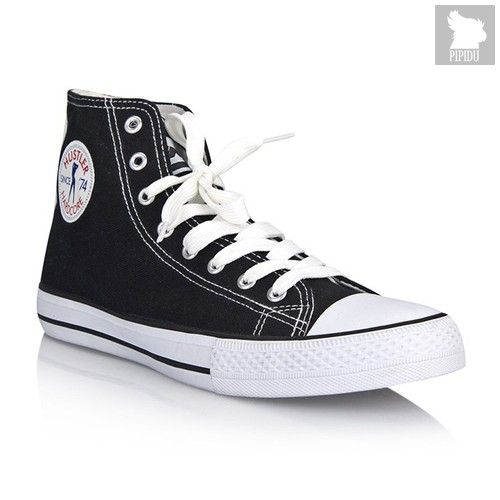 Мужские кеды Hustler Classic High Top - Limited Edition, цвет черный, 41 - Hustler Shoes
