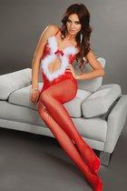 Боди-Комбинезон Magali Christmas, цвет красный, S-L - Livia Corsetti
