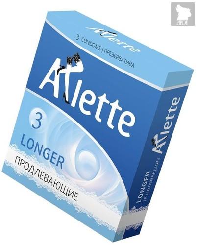 Презервативы Arlette Longer с продлевающим эффектом - 3 шт. - Arlette